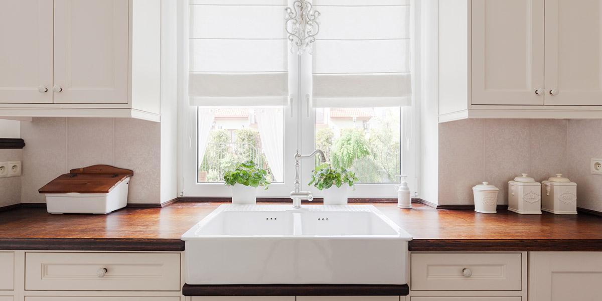 Kitchen Window Treatment Ideas