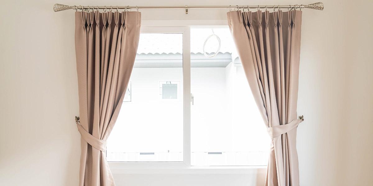 home interior window curtains